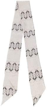 Thomas Wylde Oleander printed scarf