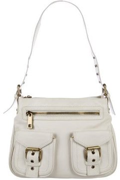 Marc Jacobs Leather Sofia Tote - WHITE - STYLE