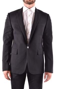 Dirk Bikkembergs Men's Black Wool Blazer.