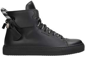 Buscemi Black 125mm Leather Sneakers