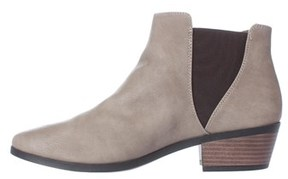 Call it SPRING Womens Mollian Round Toe Ankle Fashion Boots, Taupe, Size 7.0.