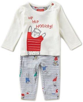 Joules Baby Boys Newborn-24 Months Byron Bear Shirt & Printed Pants Set
