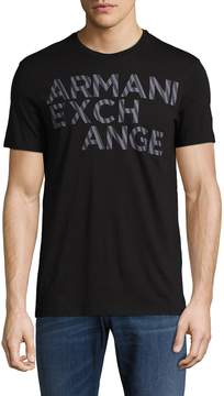 Armani Exchange Men's Cotton Graphic T-Shirt