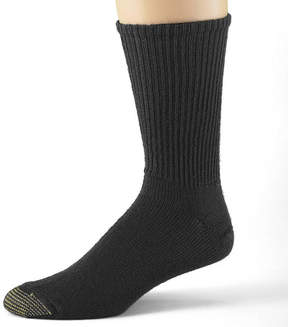 Gold Toe 3-pk. Casual Cotton Fluffies Crew Socks-Extended Sizes