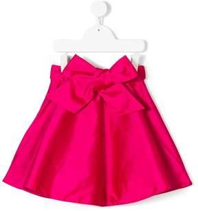 Oscar de la Renta Kids Taffeta bow skirt
