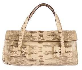 Miu Miu Embossed Leather Handle Bag