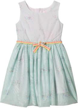 Billieblush Mint Sparkle Tulle Party Dress