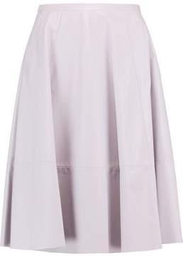 Drome Leather Midi Skirt