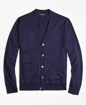 Brooks Brothers Supima® Cotton V-Neck Cardigan