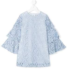 Dondup Kids floral shift dress