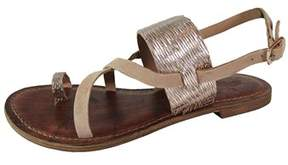 Freebird By Steven Womens Ocean Leather Open Toe Casual Ankle Strap Sandals.