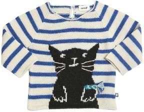 Oeuf Cat Tricot Baby Alpaca Sweater