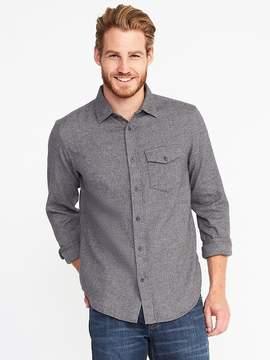 Old Navy Slim-Fit Flannel Pocket Shirt for Men