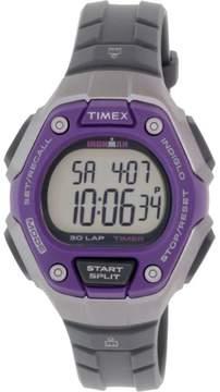 Timex Women's Ironman TW5K89500 Grey Rubber Quartz Sport Watch