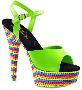 Pleaser USA Women's Delight 609RBS Ankle Strap Sandal