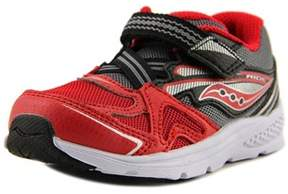 Saucony Baby Ride Round Toe Canvas Walking Shoe.