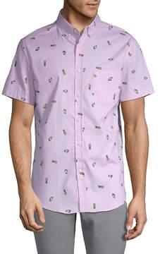 Sovereign Code Men's Crystal Cove Cotton Button-Down Shirt