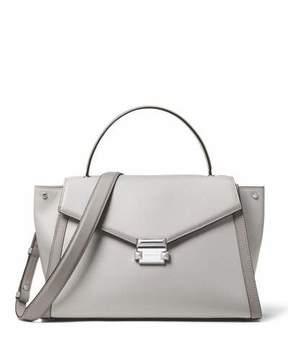 MICHAEL Michael Kors Whitney Large Leather Top-Handle Satchel Bag
