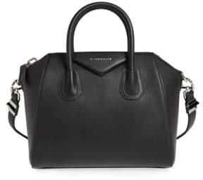 Givenchy 'Small Antigona' Leather Satchel - Black