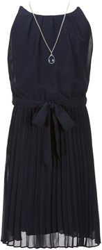 I.N. Girl Big Girls 7-16 Pleated Chiffon Dress
