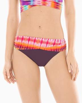 Bleu Rod Beattie Dream Weavers Sarong Hipster Swim Bottom