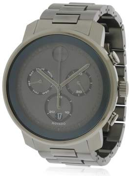 Movado Bold Stainless Steel Mens Watch 3600486