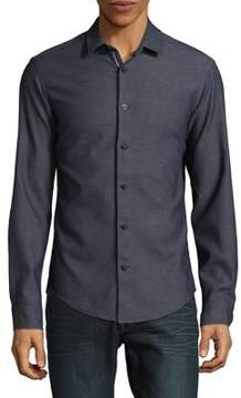 BOSS GREEN Slim Denim Button-Down Shirt