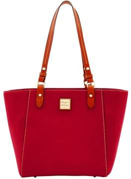 Dooney & Bourke Pebble Grain Janie Tote - CRANBERRY - STYLE