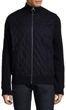 Barbour Full Zippered Wool Jacket