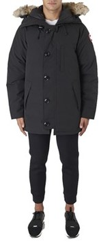 Golden Goose Deluxe Brand Canada Goose Men's Black Polyester Outerwear Jacket.
