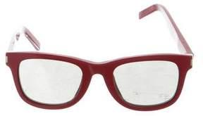 Saint Laurent SL 51 Mirrored Sunglasses