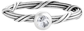 Peter Thomas Roth Signature Romance Silver 0.12 Ct. White Sapphire Ring