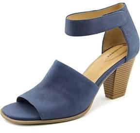 Giani Bernini Viraa Women Open Toe Leather Blue Sandals.