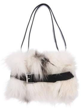 Michael Kors Fox Mini Littlton Bag - WHITE - STYLE