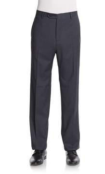 Zanella Men's Devon Grid Wool Pants