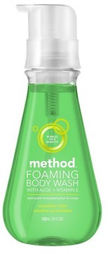 Method Products Cucumber Mint Foaming Body Wash - 18oz