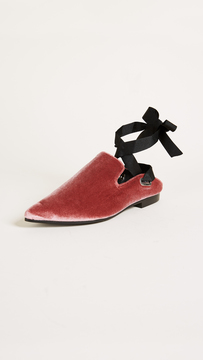 Robert Clergerie x Self Portrait Lubat Mules