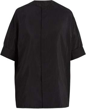 Haider Ackermann Oversized pin-stripe shirt