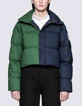 Fiorucci 50/50 Cropped Puffa Jacket