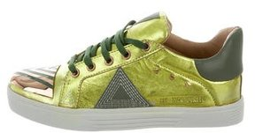 Ivy Kirzhner Sputnik Metallic Sneakers