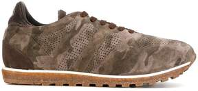 Alberto Fasciani panelled camouflage sneakers