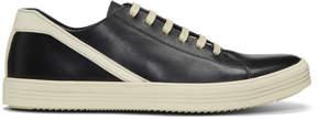 Rick Owens Black Geothrasher Low Sneakers