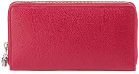 Alexander McQueen Zip-Around Continental Wallet, Pink