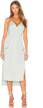 BCBGeneration Slit Midi Dress