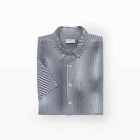 Club Monaco Striped Seersucker Shirt