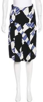 Christian Lacroix Geometric Pleated Skirt w/ Tags