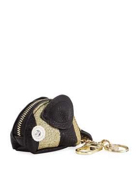 Neiman Marcus Honeybee Mini Coin Purse Key Chain