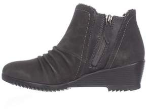 Sporto Womens Drape Closed Toe Ankle Fashion Boots.