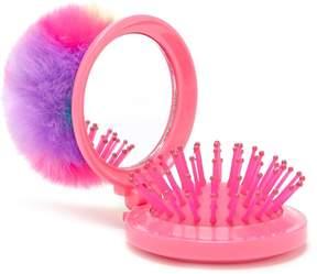 Forever 21 Pom Pom Pop-Up Mirror & Brush