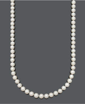 Belle de Mer Aa Cultured Freshwater Pearl Strand Necklace (9-1/2-10-1/2mm) in 14k Gold